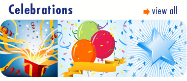 Celebrations Vector Art