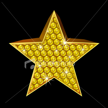 gold star. within the gold star.