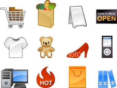 Internet Shopping Icons 2