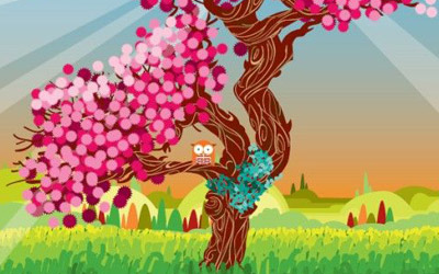 tree vector The best of 2008 in Illustrator Tutorials and Articles