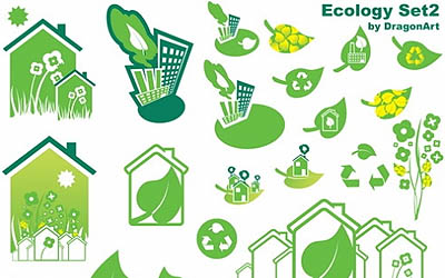 ecology vector set-2
