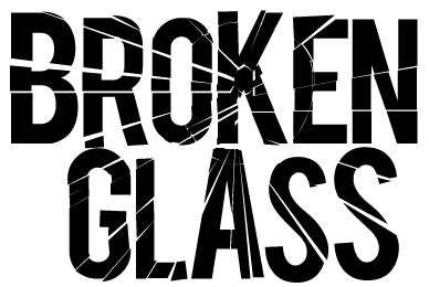 Broken glass svobodas asbleadershiptech class secondly you can try breaking up the logo more using circular lines similar to the steps above to create a more realistic broken glass look altavistaventures Choice Image