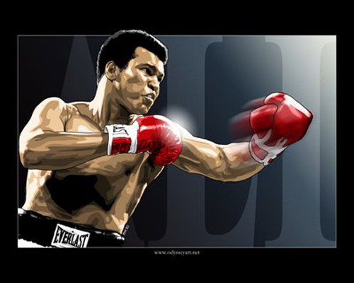 sports boxing mohammad ali