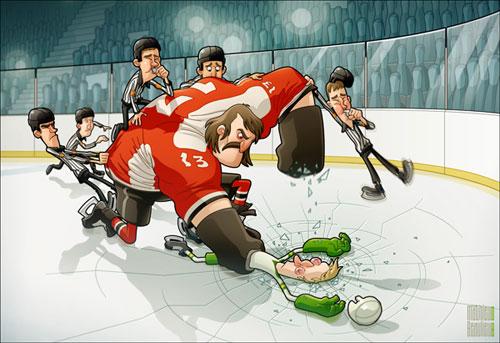 sports ice hockey