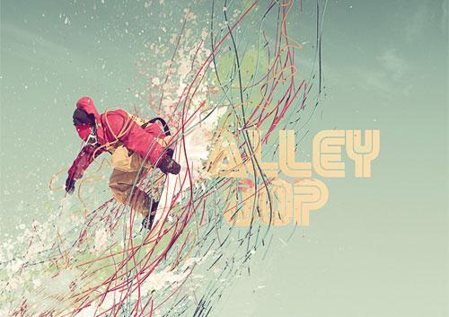 sports snow boarding