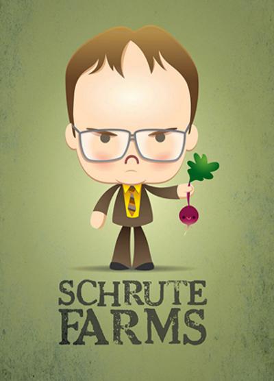 Kawaii Dwight Schrute