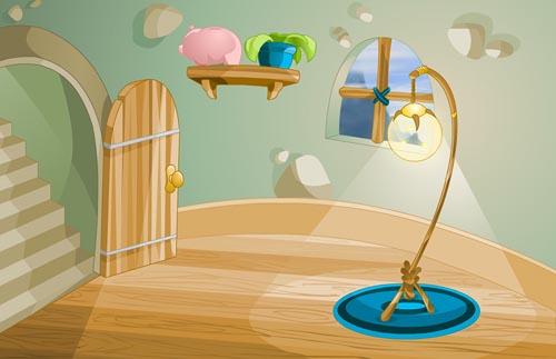 Fuzz Academy Dorm Background