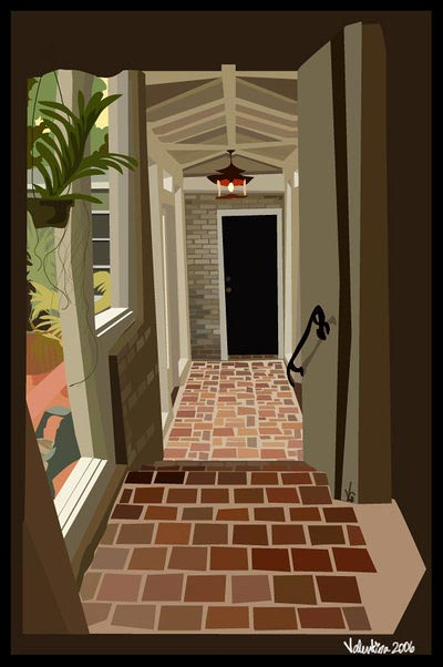House Hall Vector