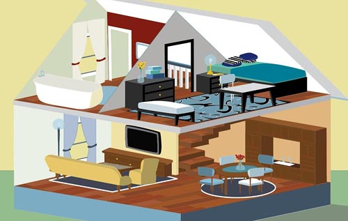 Illustrator Practice House IN