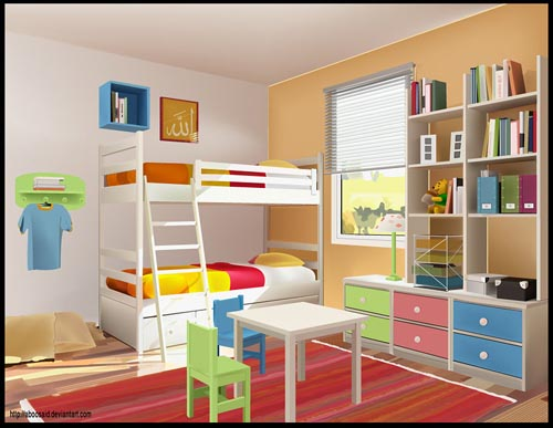 Room in Illustrator