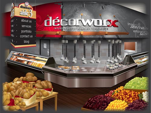 Decorworx website vexel