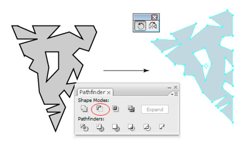 how to change angle of a shape on illustrator