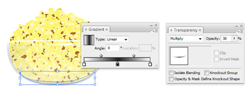 how to draw a fruit bowl in illustrator