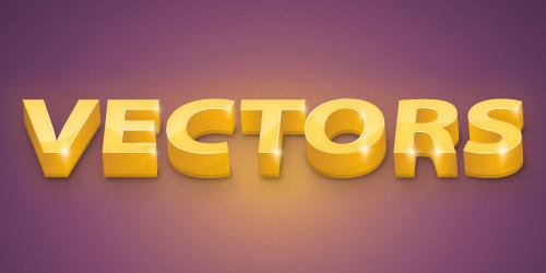 Premium Tutorial: 3D Golden Text Effect | - Illustrator