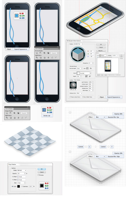 phone applications screenshot