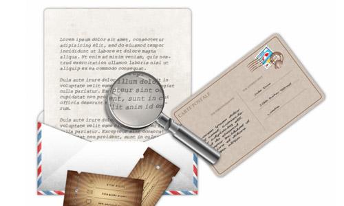 Premium Tutorial: Vintage Letter & Envelope