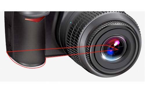 photorealistic dslr camera