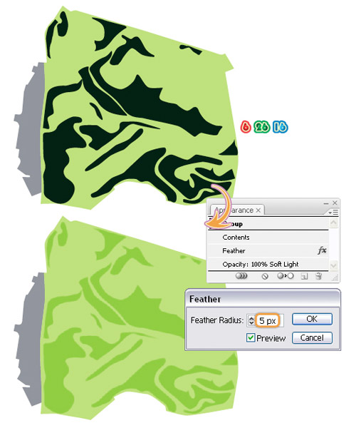 vector map drawing