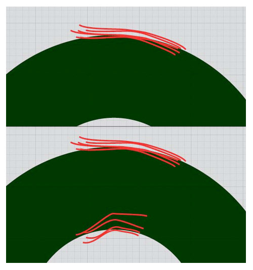 Drawing Smooth Curved Lines In Illustrator : Premium tutorial christmas ornament wreath