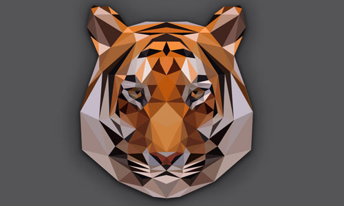 polygon tiger