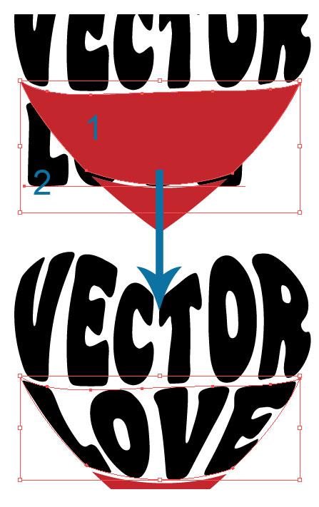 Illustrator Tutorial: Warp Text Inside A Heart Shape