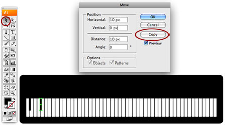 Screenshot of copy key 2