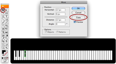 Screenshot of copy key 3