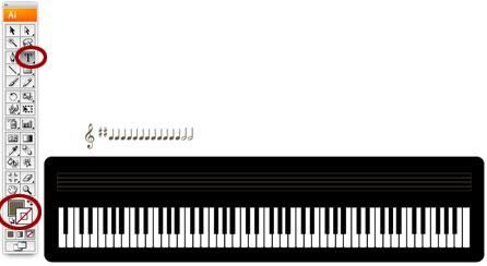 Screenshot of musical notations
