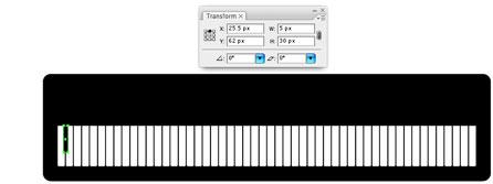 Screenshot of position black key