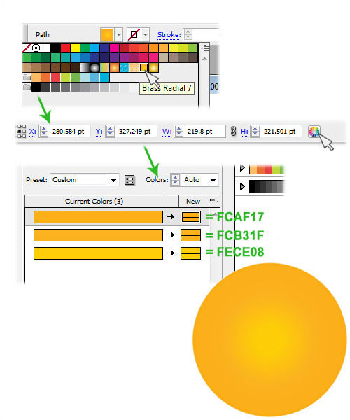 how to find colour code in illustrator