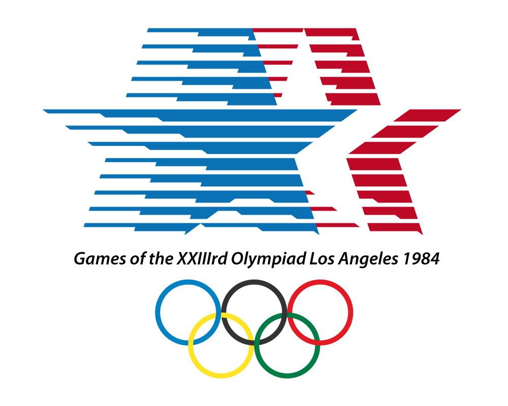 los angeles olympic logo