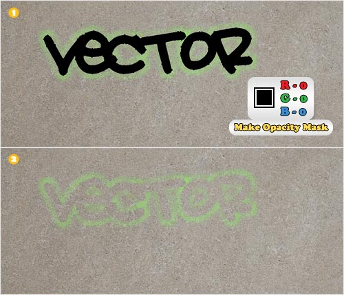 vector stencil
