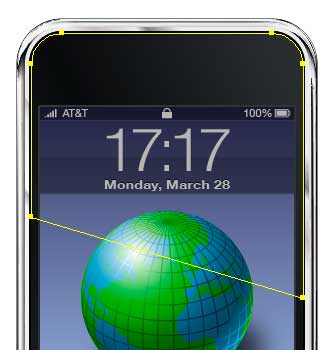 vector iphone