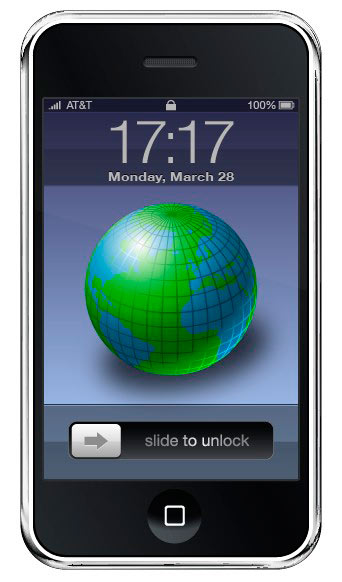 vector iphone