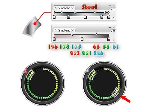 futuristic interface design