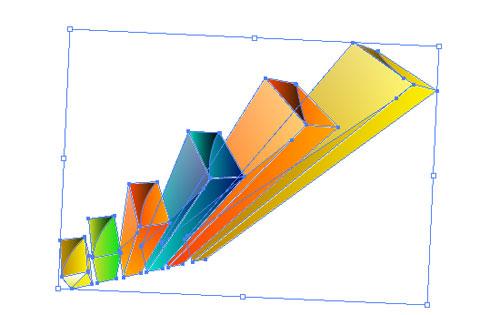 Illustrator Tutorial: 3D Graph and Tablet | - Illustrator Tutorials