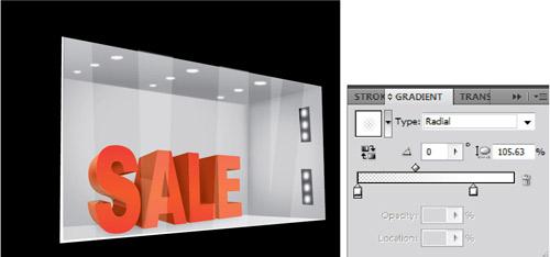3D store display