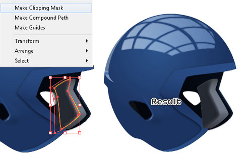 how to make a football shape in illustrator