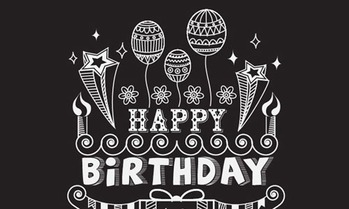 illustrator tutorial line style birthday poster illustrator