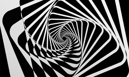 Abstract Spiral Motion Background