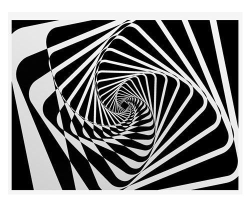 spiral motion abstract