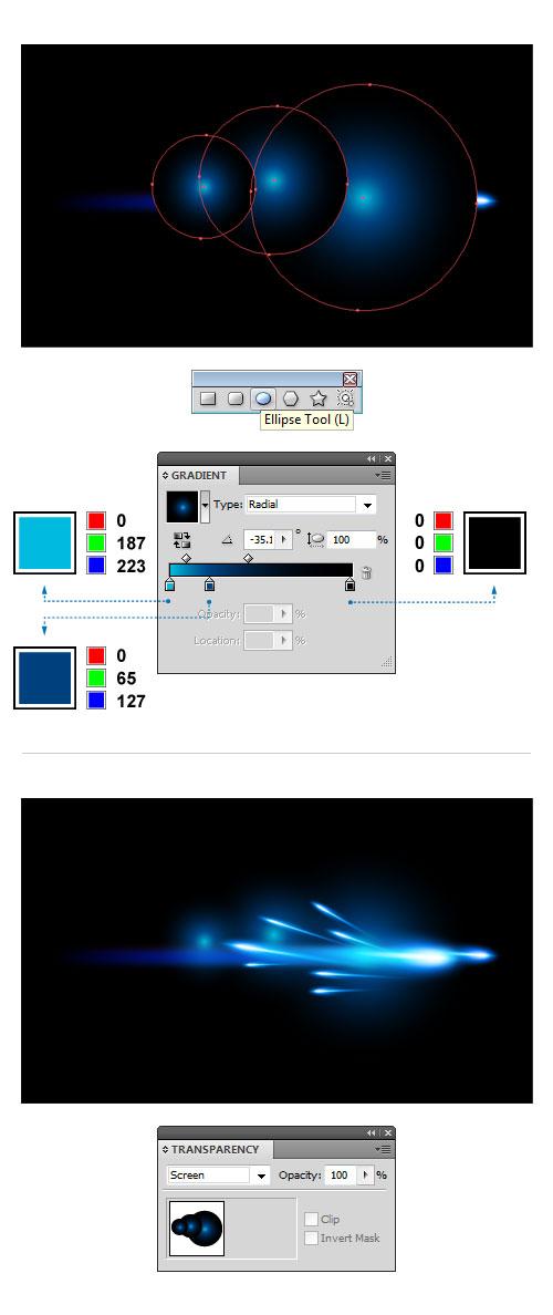 Blue Comet Special Effect