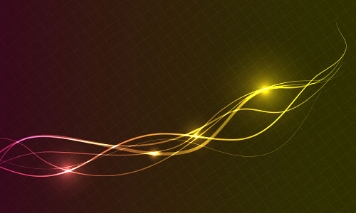 Line Art In After Effects : Illustrator special effects abstract wave lines