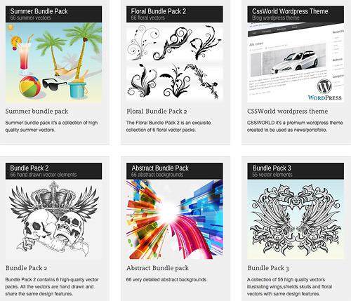 mega design bundle preview
