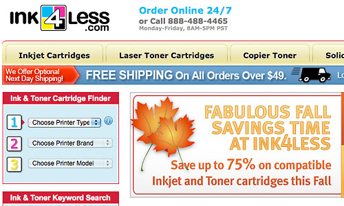 ink4less coupon code