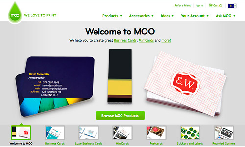 Moo business cards free cards illustrator tutorials tips moo coupon discount reheart Gallery