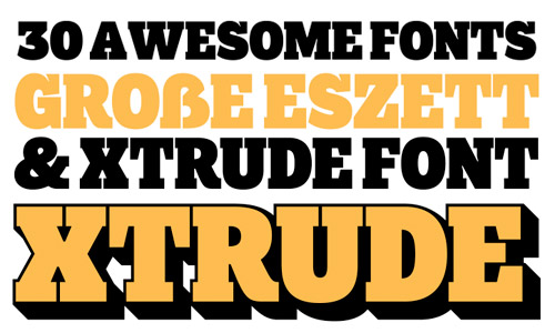 20 awesome fonts for 2013
