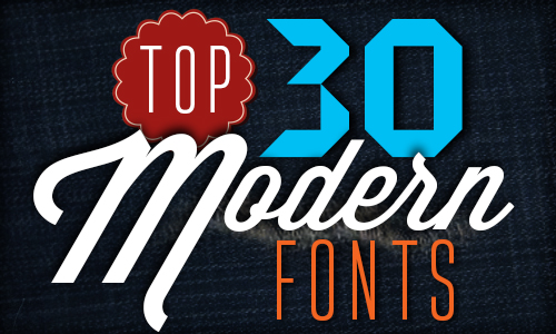 Top 30 Modern Fonts Illustrator Tutorials Tips