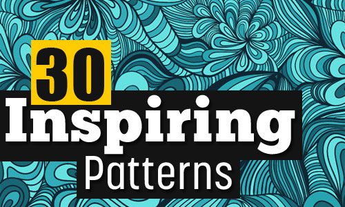 30 inspiring background patterns