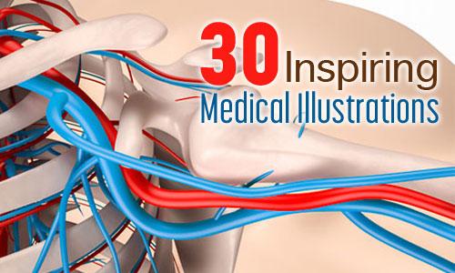 30 inspiring medical illustrations